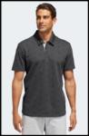 Adidas Pique Polo Shirt Carbon Zwart