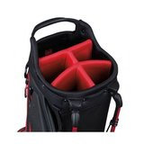 Titleist Players 5 Standbag Zwart Rood Wit