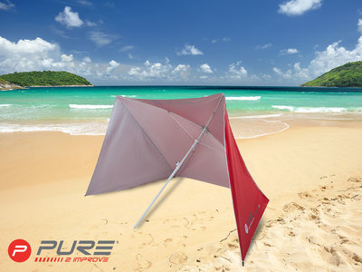 Purebrella Shelter Red 170
