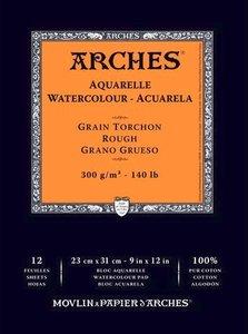 Arches Aquarelle Rough Nature White 300 gram 21x29.7cm