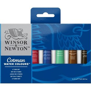Cotman 6 Tube Set
