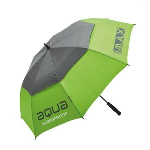 Big Max Aqua Golf Paraplu Lime Charcoal