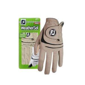 Footjoy Weathersof handschoen dames Taupe