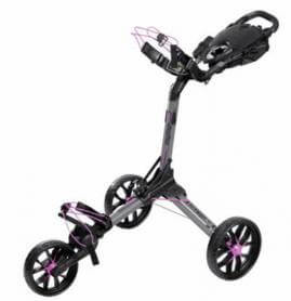 BagBoy Nitron Golftrolley Charcoal Pink