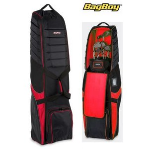 BagBoy T-750 Travelbag Zwart Rood