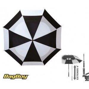 BagBoy golf paraplu Telescopic Zwart Wit