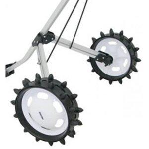 2 wiel golftrolley inclusief winterbanden