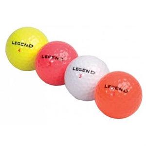 Golfballen Legend 12 stuks verschillende kleuren