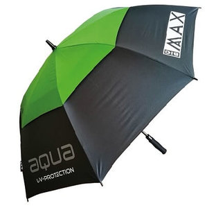 Big Max Aqua UV Golf Paraplu Charcoal Lime