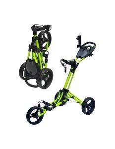 Fastfold Trike Mat Lime Zwarte Wielen
