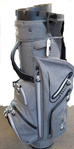 Fastfold ZCB Cartbag Grey Black Silver
