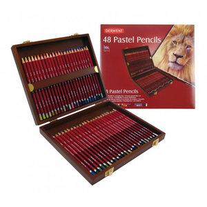 Pastel Woodbox Derwent 48-Delig