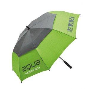 Big Max Aqua Golf Paraplu Lime Charcoal