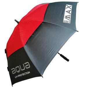 Big Max Aqua UV Golf Paraplu Charcoal Red