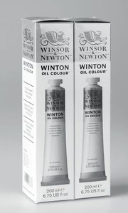 Winton 2x200ML Titanium White Twin Pack