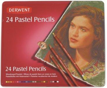 Derwent 24 Pastel potloden