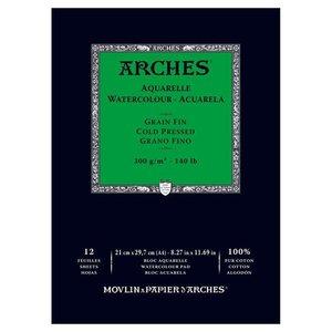 Arches Aquarelle Cold Nature White 300 gram 21x29.7 cm