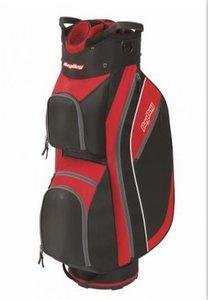 BagBoy Super Lite Cartbag Zwart Rood