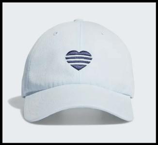 Adidas 3 Stripes Heart Cap Blue