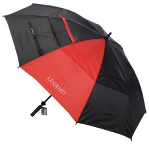 Legend Golfparaplu Zwart Rood