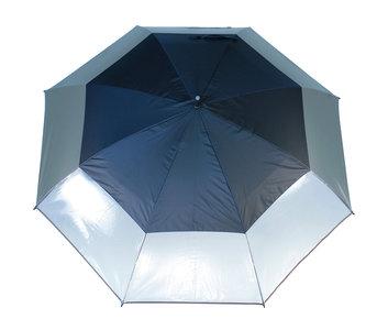 Masters UV Storm Paraplu Trans Charcoal / Jet Black