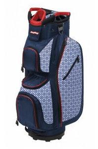 BagBoy Cartbag LDX Plus Navy Red Tiles