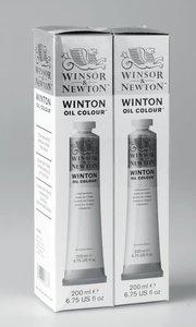 Winton 2x200ML Titanium White Twin Pack