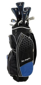 Ben Sayers M8 Full Golf Set Staal Cartbag +1INCH