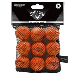 Callaway Soft Flight Orange indoor golfballs