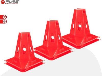 Pure2Improve Cones Set 15cm