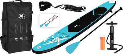 XQMAX Sup Opblaasbaar Stand Up Paddle Board 305cm Blue