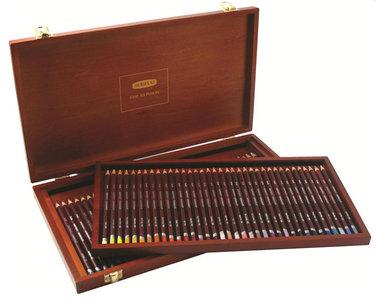 Coloursoft Woodbox Derwent 72-Delig