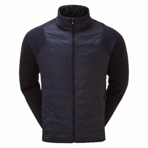Footjoy Jersey Quilted Jacket Navy