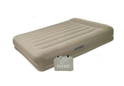 Intex Pillow Rest Mid-Rise Queen 2 persoons Luchtbed incl pomp