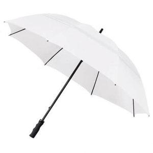 Eco Golf paraplu Stormvast Wit
