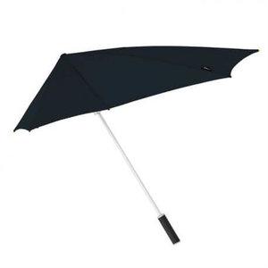 Aërodynamische stormparaplu Zwart