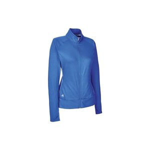 Adidas Dames Golfjack Sweater Blauw