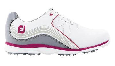 Footjoy Pro SL Dames Golfschoenen Off White Pink